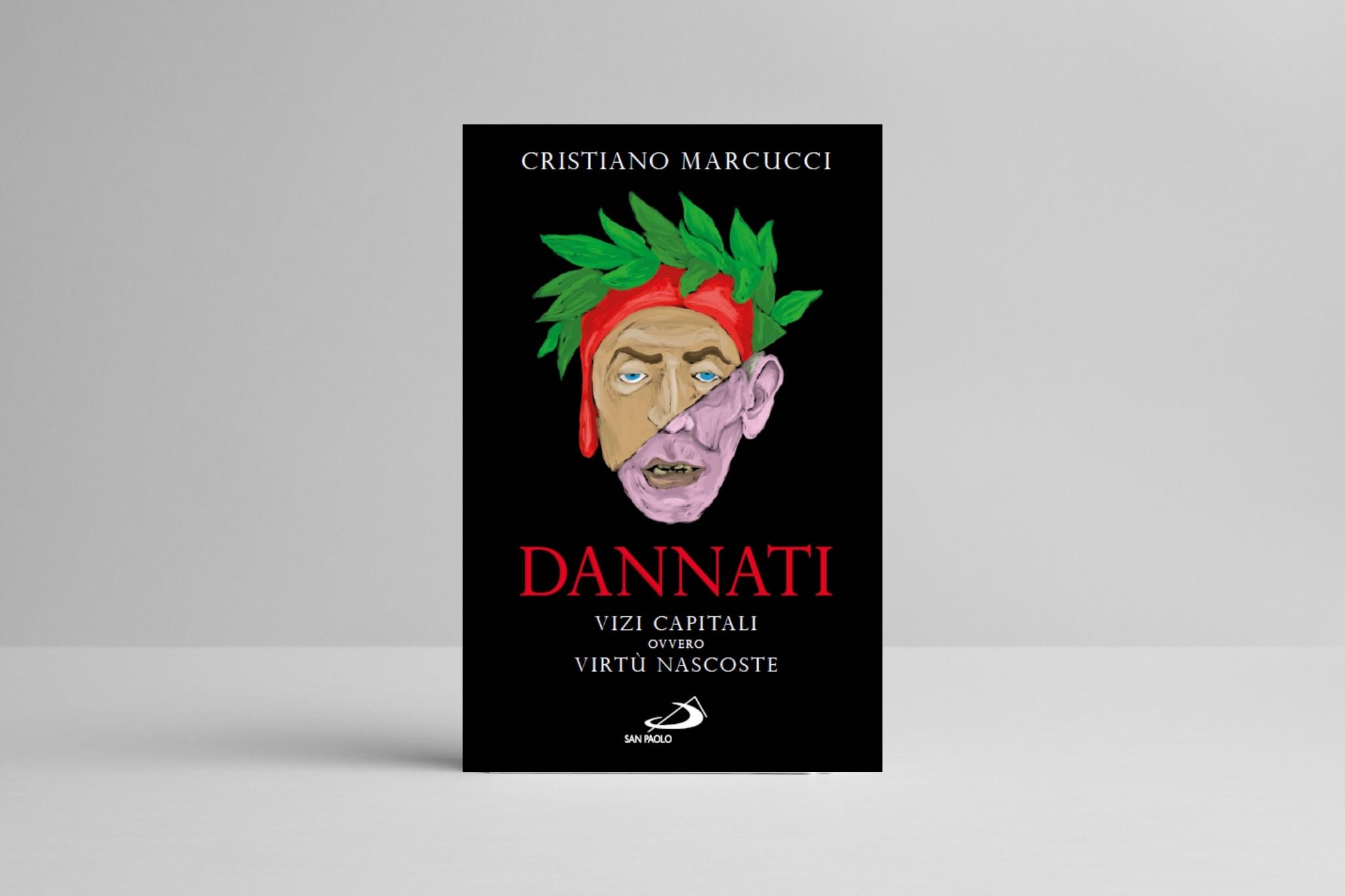 copertina del libro dannati di cristiano marcucci